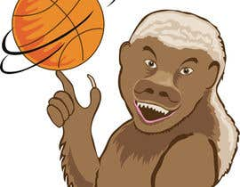 #6 for Honey badger basketball logo af gdougniday