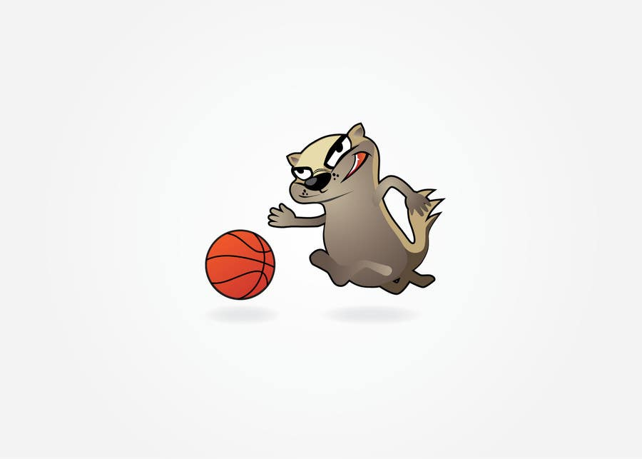 Konkurrenceindlæg #5 for Honey badger basketball logo
