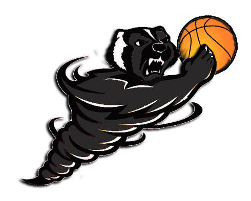 Konkurrenceindlæg #8 for Honey badger basketball logo