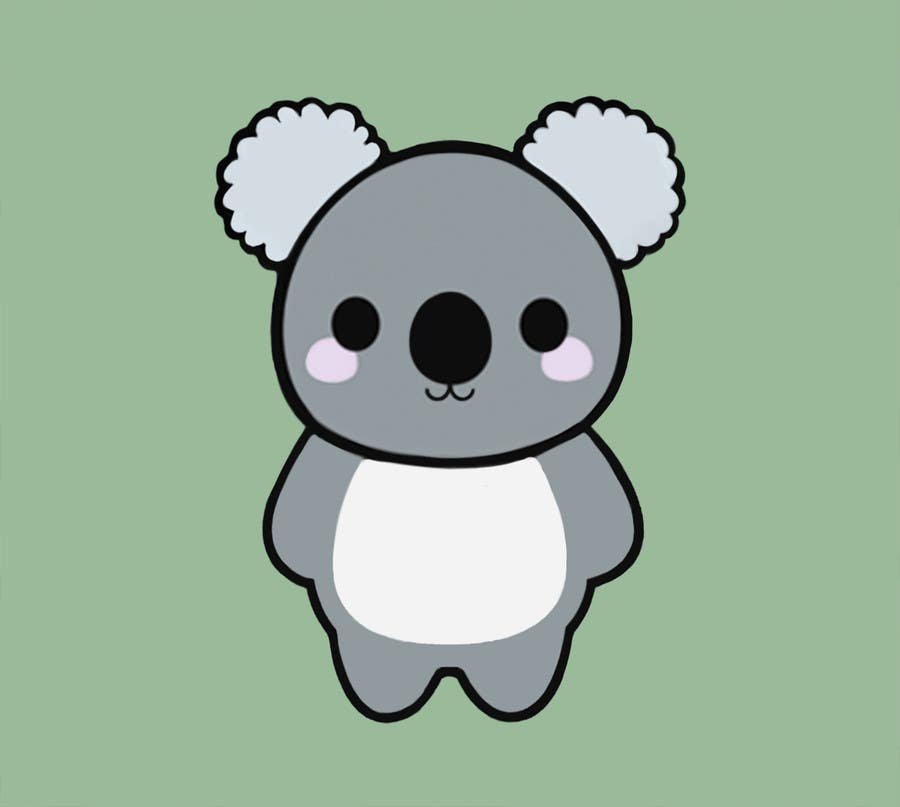 DRAW ME THE CUTEST KOALA BEAR EVER | Freelancer