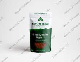 Nro 28 kilpailuun Standup zip Pouch Design for Moolihai Organics käyttäjältä ELPrinceZa