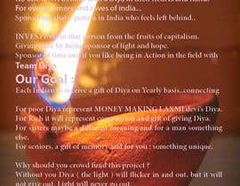 #4 for Design a Brochure for Hand Made Diya brochure. by FRIDAH21