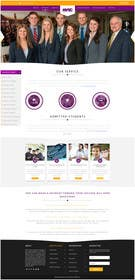 #24 untuk Design a website page mockup for existing content oleh logodesire