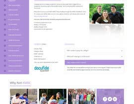 #26 for Design a website page mockup for existing content af syrwebdevelopmen