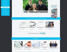 #28 for Design a website page mockup for existing content af charlieekman