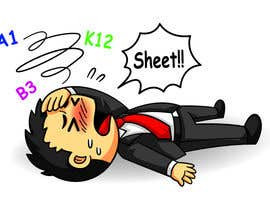 #4 untuk Create a ClipArt of business man knocked out oleh satherghoees1