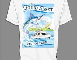 nº 13 pour Design a T-Shirt for Offshore Fishing T-Shirt par drimaulo