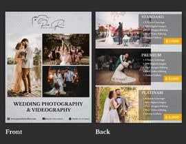 Nro 61 kilpailuun Photography - Videography Price Flyer käyttäjältä nmk95731