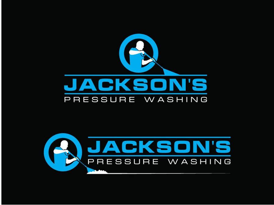 Konkurrenceindlæg #                                        5                                      for                                         Design a Logo for Pressure Washing Business