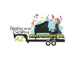 Nro 8 kilpailuun design company logo accourding to honor of Frédéric Chopin käyttäjältä Fritox
