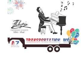 Nro 28 kilpailuun design company logo accourding to honor of Frédéric Chopin käyttäjältä aajunaed47