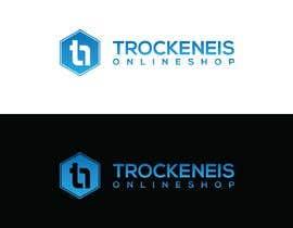 #313 untuk Logo for the online shop website trockeneis-onlineshop.at oleh alauddinsharif0