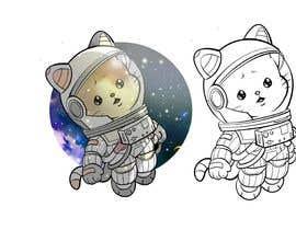 Nro 138 kilpailuun Draw and Re-Design Cartoon Animal Image käyttäjältä berragzakariae