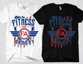 Nro 175 kilpailuun Tshirt, Hat, Sweater, swag designs for Fitness Brand! käyttäjältä Rheanza