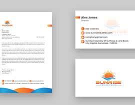 #54 for Design Visiting Card ( Front & Back), Envelope and Letter Head by Sharifb175
