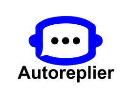 #49 for Create a logo for our FB ChatBot chrome extension called Autoreplier by norbenpardillos