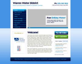 #2 para Design a Website Mockup for Rural Water Company por CreativeDezigner