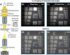 Nro 19 kilpailuun Achromatic lens to print with resin printer käyttäjältä ebrahim0177922