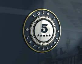 """#8 cho Projetar um Logo for e-commerce store """"loja 5 estrelas"""" bởi wakjabit"""