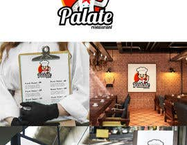 """#70 for Looking for logo..... """" PALATE """" Its a restaurant, here is some reference by jlangarita"""
