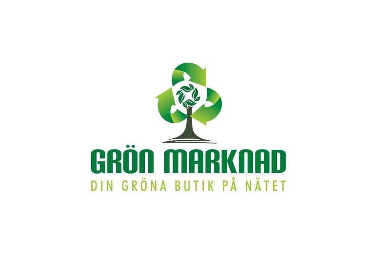 Bài tham dự cuộc thi #14 cho Designa en logo for Gronmarknad.se