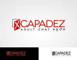 #53 za Logo Design for Xcapadez Adult Chat Room od MladenDjukic