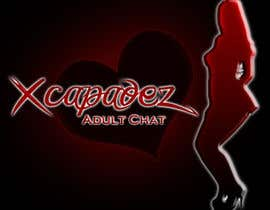 SlickSeven님에 의한 Logo Design for Xcapadez Adult Chat Room을(를) 위한 #11