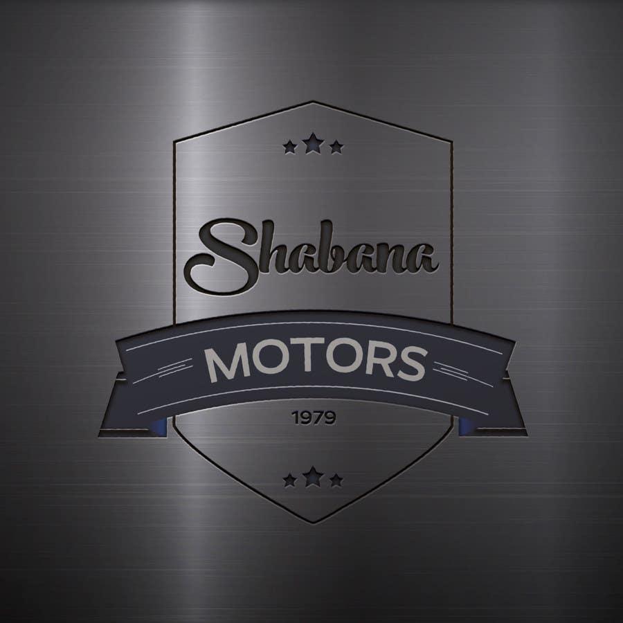 Kilpailutyö #126 kilpailussa Design a Logo for Shabana Motors