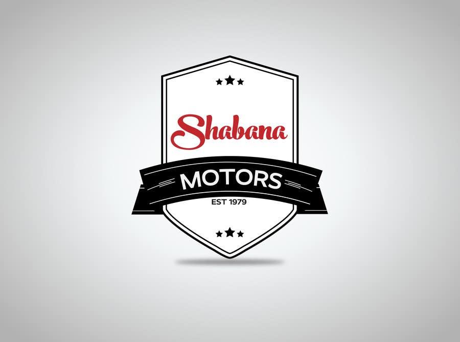 Kilpailutyö #137 kilpailussa Design a Logo for Shabana Motors