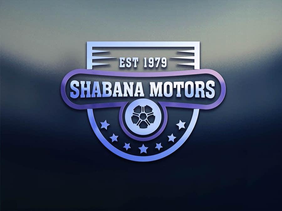 Konkurrenceindlæg #203 for Design a Logo for Shabana Motors