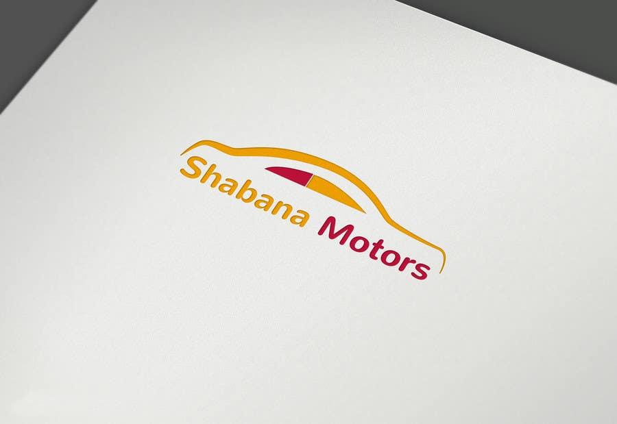 Kilpailutyö #31 kilpailussa Design a Logo for Shabana Motors