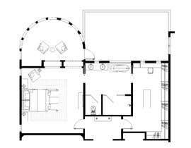 nº 81 pour Redesign  the floor plan of master suite for a better flow par trihapsarisanti
