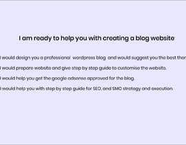 #1 for Blogging website with complete guide for future use af Volunteer34