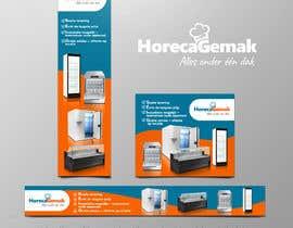 carlosren21 tarafından Advertisement Banners HorecaGemak (3 sizes) için no 93