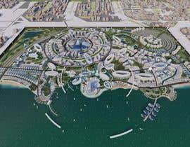 #53 for Build me a 3d futuristic town by farhanradzi