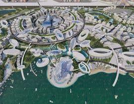 #57 for Build me a 3d futuristic town by farhanradzi