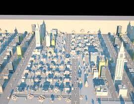 #98 for Build me a 3d futuristic town by MosTafa1Ramadan