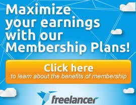 #121 for Design a Banner for Freelancer.com by CreativeDolphin