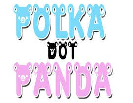 #89 for Design a Logo for a new children's clothes website - Polka Dot Panda by alidicera
