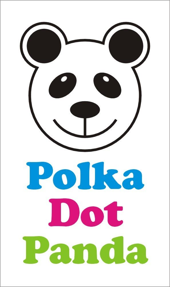 #83 for Design a Logo for a new children's clothes website - Polka Dot Panda by inspiringlines1