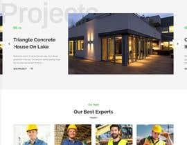 Nro 16 kilpailuun St Patrick's Day home page website design käyttäjältä neshadn