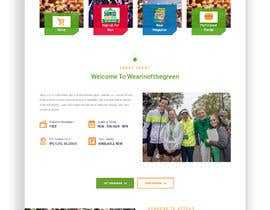 Nro 13 kilpailuun St Patrick's Day home page website design käyttäjältä sanjayrawat13