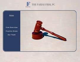 Nro 89 kilpailuun Website Design for Attorney käyttäjältä HafizNur27