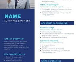 #24 para IT/ academic CV design por paras7475