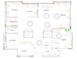 nº 23 pour Beauty Salon interior layout & furniture plan by autocad par ebrahim0177922