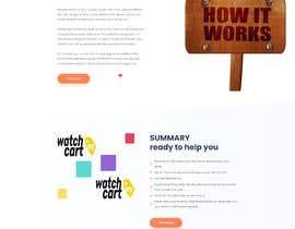 Nro 1 kilpailuun I need a ui design for my website homepage. käyttäjältä freelancersagora