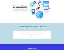 Nro 10 kilpailuun I need a ui design for my website homepage. käyttäjältä freelancersagora