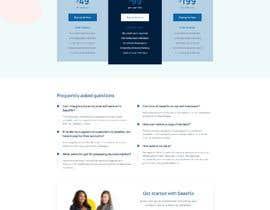 Nro 11 kilpailuun I need a ui design for my website homepage. käyttäjältä freelancersagora