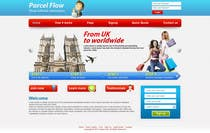 Website Design is needed for a parcel forwarding business in the uk için 22 numaralı Graphic Design Yarışma Girdisi