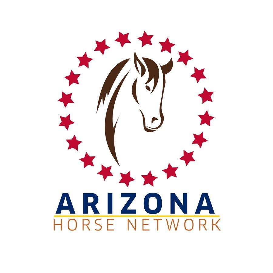 Kilpailutyö #62 kilpailussa Design a Logo for Arizona Horse Network